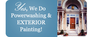 Powerwashing and Exterior Painting Annapolis, Anne Arundel Co. and Chesapeake region Maryland